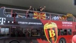 Шампионите се вратија дома