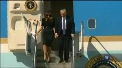 Президент Трамп прибув у Лас Вегас, де сталася найкривавіша масова стрілянина в історії США. Відео