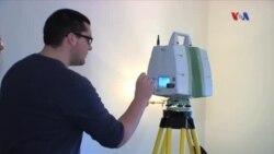 Tarixi binaların bərpasında lazer kameradan istifadə olunur