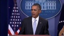 اوباما در واکنش به حوادث پاریس: آمریکا در کنار فرانسه ایستاده است