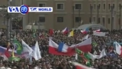 VOA國際60秒(粵語): 2013年3月19日