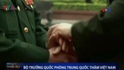 Bộ trưởng Quốc phòng Việt-Trung 'tay bắt, mặt mừng'