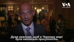 """""""Дуже важливо, щоб в Чорному морі була натівська присутність"""", - Джеймс Аппатурай. Відео"""