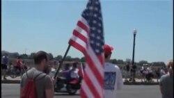 مراسم روز یادبود در آمریکا