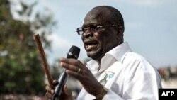 Guy Brice Parfait Kolelas Yari Ahanganye na Denis Sassou Nguesso mu matora