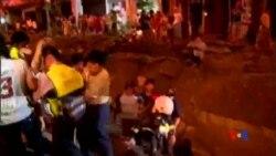 2014-08-01 美國之音視頻新聞: 台灣高雄燃氣爆炸 至少24人喪生