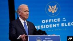 Tổng thống đắc cử Joe Biden.