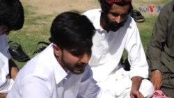 جبری گمشدگیوں کے خلاف سندھی طلبا کا احتجاج
