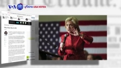 VOA60 Elections - Hillary Clinton laid out her anti-ISIS campaign this month at the Council on Foreign Relations