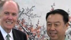 美国国家安全顾问会晤中国军方将领