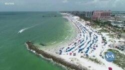 У Флориді зафіксували найвищу денну кількість нових випадків Covid-19 серед усіх штатів. Відео