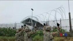 Чим займаються військові у прикордонних штатах в очікуванні каравану іммігрантів. Відео
