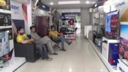 اسلام آباد میں دھرنے کے باعث تاجر پریشان