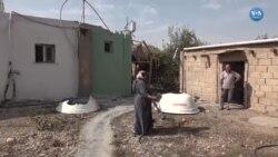 Suriye Sınırındaki Evlerinde Kıl Payı Kurtuldular