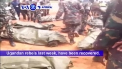 VOA60 Africa - DRC: Memorial held for 15 Tanzanian UN peacekeepers killed in an attack by suspected Ugandan rebels