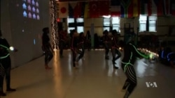 Teen Girl Coders Choreograph Digital Dance