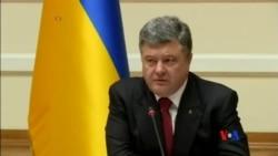 2014-09-10 美國之音視頻新聞: 烏克蘭總統給予東部地區更大自主權