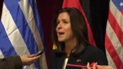 Кејт Брнс: Договорот од Преспа не е само името, туку и отворање можности за луѓето од земјата