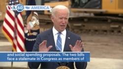 VOA60 Ameerikaa - Biden Advocates Spending Plans Amid Uncertainty