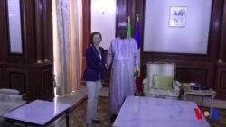 La ministre française de la défense rencontre le président tchadien