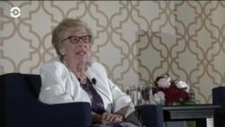 Ева Шлосс, сводная сестра Анны Франк – о Холокосте