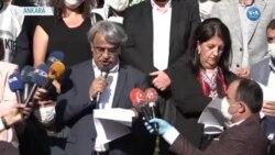 HDP 'Darbeye Karşı Demokrasi Yürüyüşü' Eylemini Tamamladı