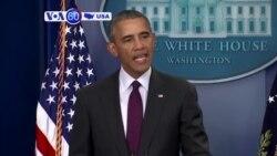 VOA60 America - President Barack Obama calls for increased gun control - October 2, 2015