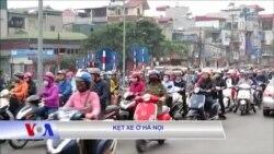 Kẹt xe ở Hà Nội