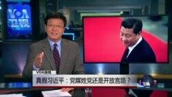 VOA连线(郝晓明):真假习近平:党媒姓党还是开放言路?