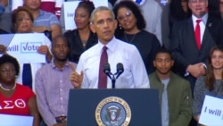 Obama Scolds Supporters Booing Protester