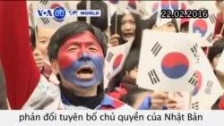 Nhóm dân sự Hàn Quốc phản đối tuyên bố chủ quyền của Nhật (VOA60)