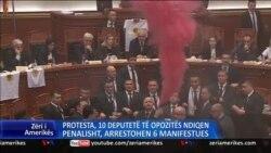 Protestat, ndjekje penale për 10 deputetë të opozitës