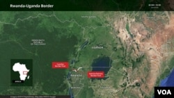 Umupaka uhuza u Rwanda na Uganda