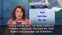 Phát âm chuẩn - Anh ngữ đặc biệt: Toys as a Learning Tool (VOA)