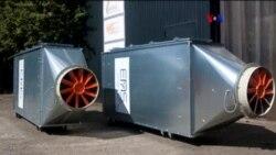 Sistema descontaminante de aire citadino