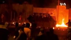 伊拉克安全部隊與反政府示威者爆發衝突