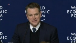 Matt Damon on Challenges of Messaging, Global Water Issues