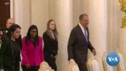 La vice-présidente du Venezuela rencontre Lavrov à Moscou