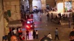 Kudüs'te Yaralanan Filistinliler'in Sayısı 200'ü Geçti