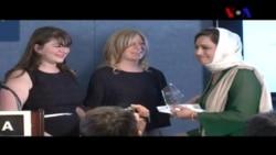 دوہزار چودہ کا پیٹر مکلئیر ایوارڈ عا صمہ شیرازی کے نام
