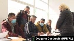 Glasanje na lokalnim izborima u Preševu (Foto: RSE/Dragana Cvetković)
