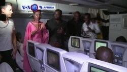 VOA60 Afrika: Mcheza filamu wa Nigeria azindua filamu yake mpya akiwa ndani ya ndege