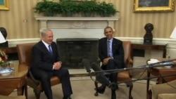 ملاقات باراک اوباما و نتانیاهو در کاخ سفید