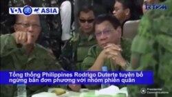 Philippines ngừng bắn với phiến quân theo chủ nghĩa Mao