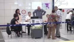 Atatürk Havalimanı'nda Oy Verme İşlemi Başladı