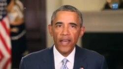 باراک اوباما در کنفرانس تغییرات آب و هوا در آلاسکا سخنرانی می کند