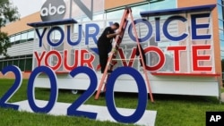 ການໂຕ້ວາທີປາທານາທິບໍດີ ຂອງພັກເດໂມແຄຣັດ ຄັ້ງຕໍ່ໄປຈະຖືກຈັດໂດຍໂທລະພາບ ABC ຢູ່ມະຫາວິທະຍາໄລ ເທັກຊັສໃຕ້. 12 ກັນຍາ, 2019.