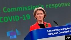 Presidentja e Komisionit Evropian Ursula von der Leyen