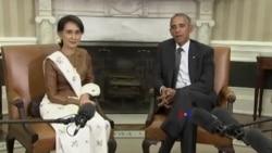 奧巴馬:美國準備好取消對緬甸制裁