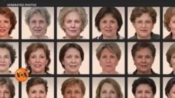 مصنوعی ذہانت سے بنے نقلی چہرے
